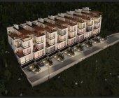 Продам 8 Таунхаусов в городе Ялта п.г.т. Отрадное в районе шоссе Дражинского.